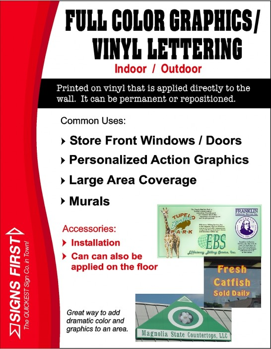 Full Color Graphics - Vinyl Lettering - jpg